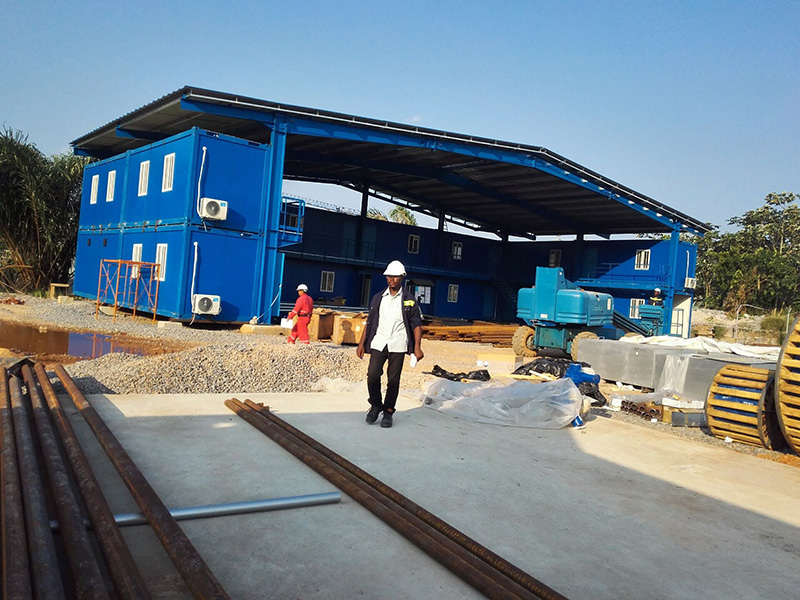 Container Office in Ghana Electrical Factory