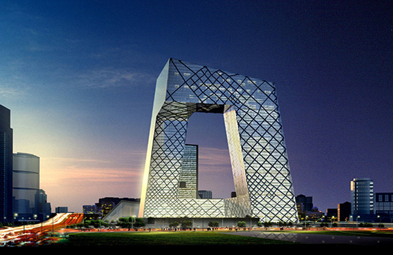 Beijing Television Center of Chinese Steel Structure Engineering