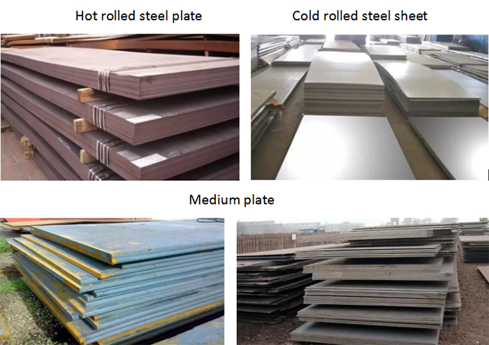 Classification of steel structure materials