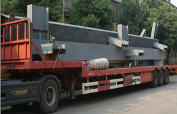 Coating and transportation scheme for steel structure
