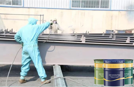 Commonly used paint selection for steel structure anti-corrosion