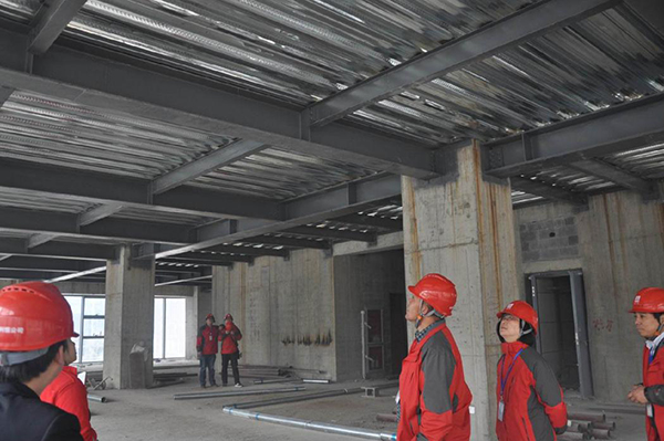 Fire protection method of steel structure workshop
