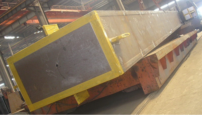 General process for steel structure box column production