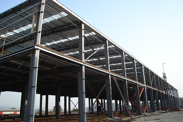 How much per square meter of steel structure workshop