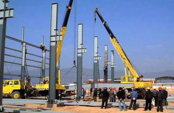 Installation Method and Technical Measures of Steel Structure on Site
