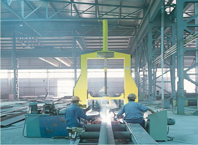 Manufacturing Process of Steel Structure