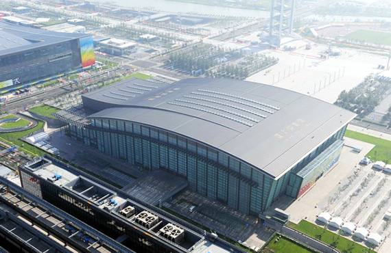 National Gymnasium of steel structure engineering in China