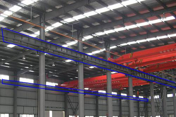 Several problems of cranes in steel structure workshop