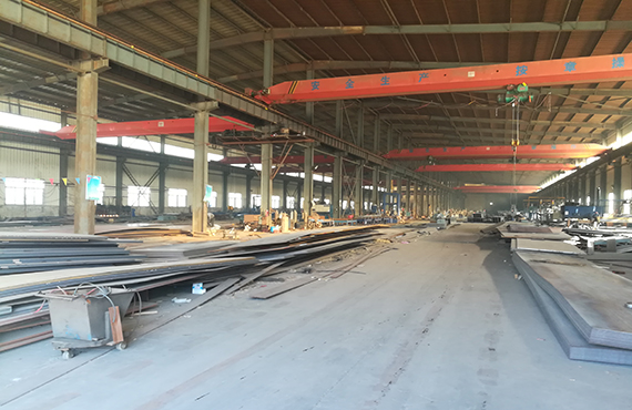 Steel structure processing equipment