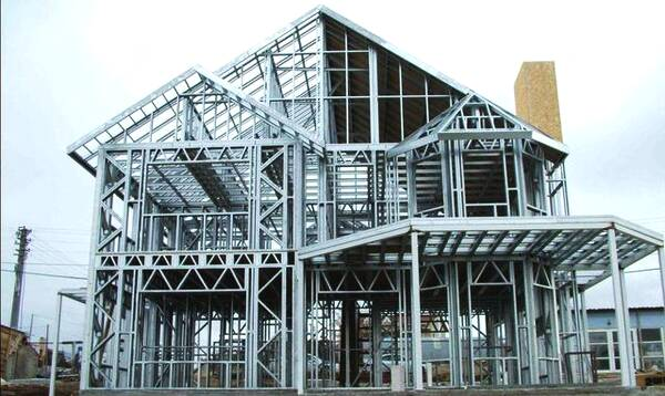 Steel structure residential application technology