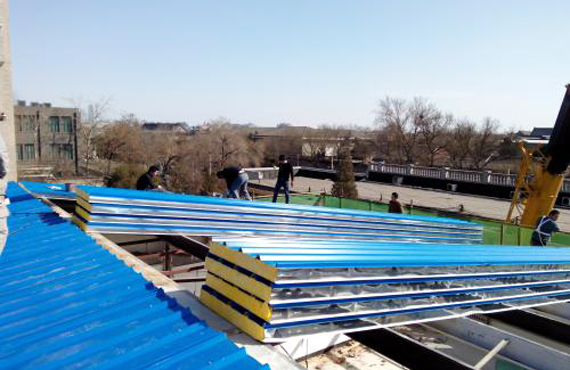 Steel Structure Roof and Wall Panel Installation Guidance One