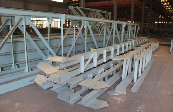 Steel structure staircase engineering production