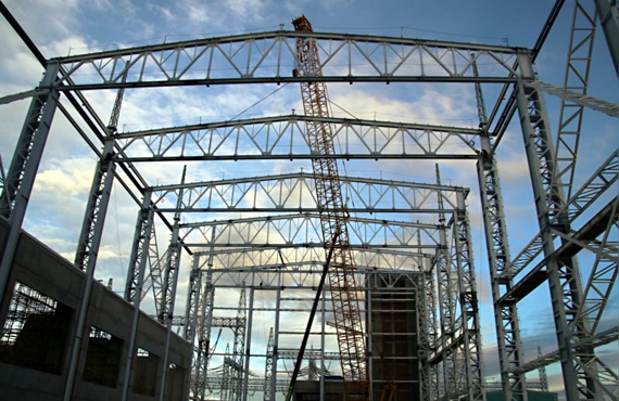 Steel structure truss