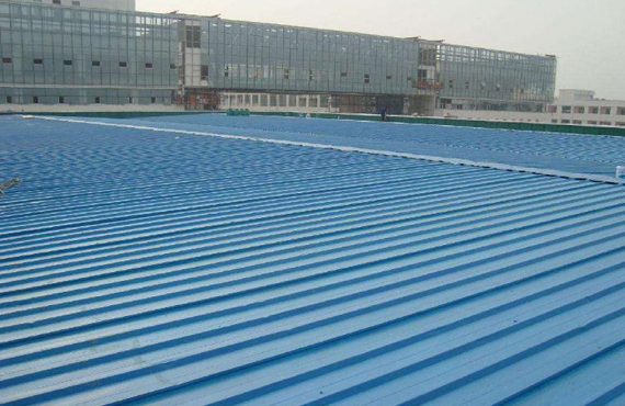 Steel structure waterproof material and construction scheme