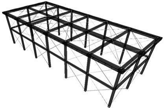 The deepening design of steel structure