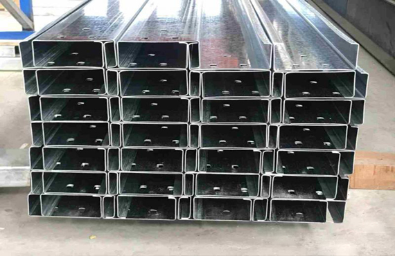 The manufacture of steel structure surrounding system