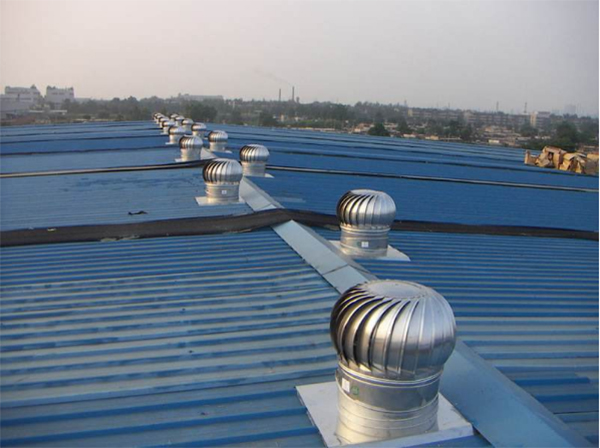 Three cooling methods of steel structure workshop