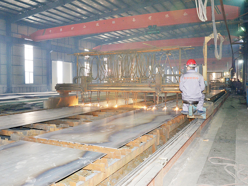 Steel Structure Building Cutting