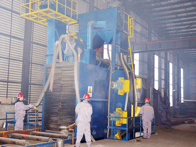 Steel Structure Building Shot Blasting