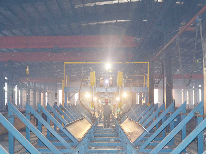 Steel Structure Building Welding